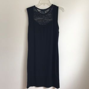 Asos BodyCon Black Dress with Lace